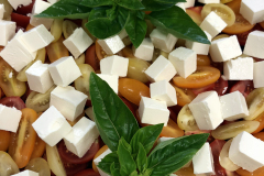 Salat-Konfirmation-buffet