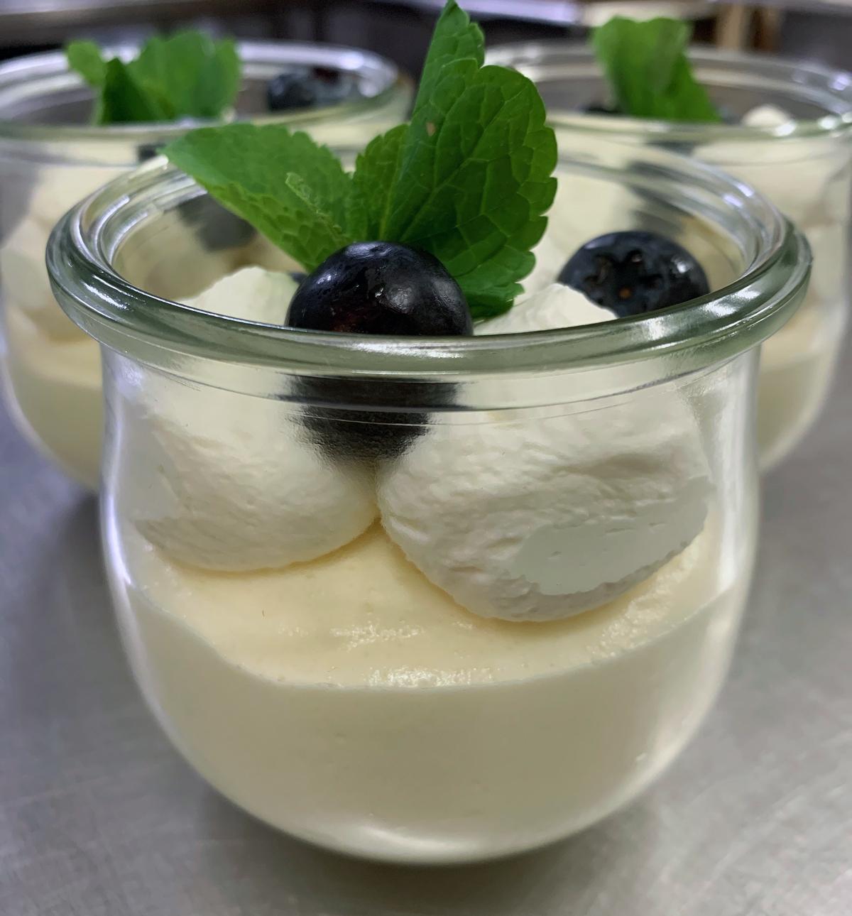 Citronfromage-desserter